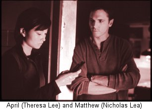 Nick Lea and Theresa Lee